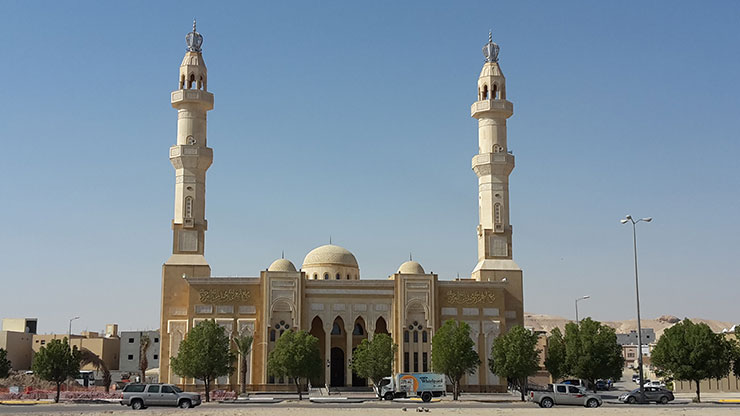 Moschee in Saudi-Arabien
